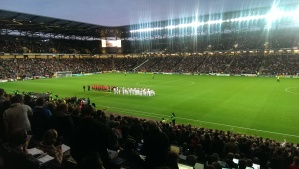 stadiummk before Capital One Cup tie vs Manchester United
