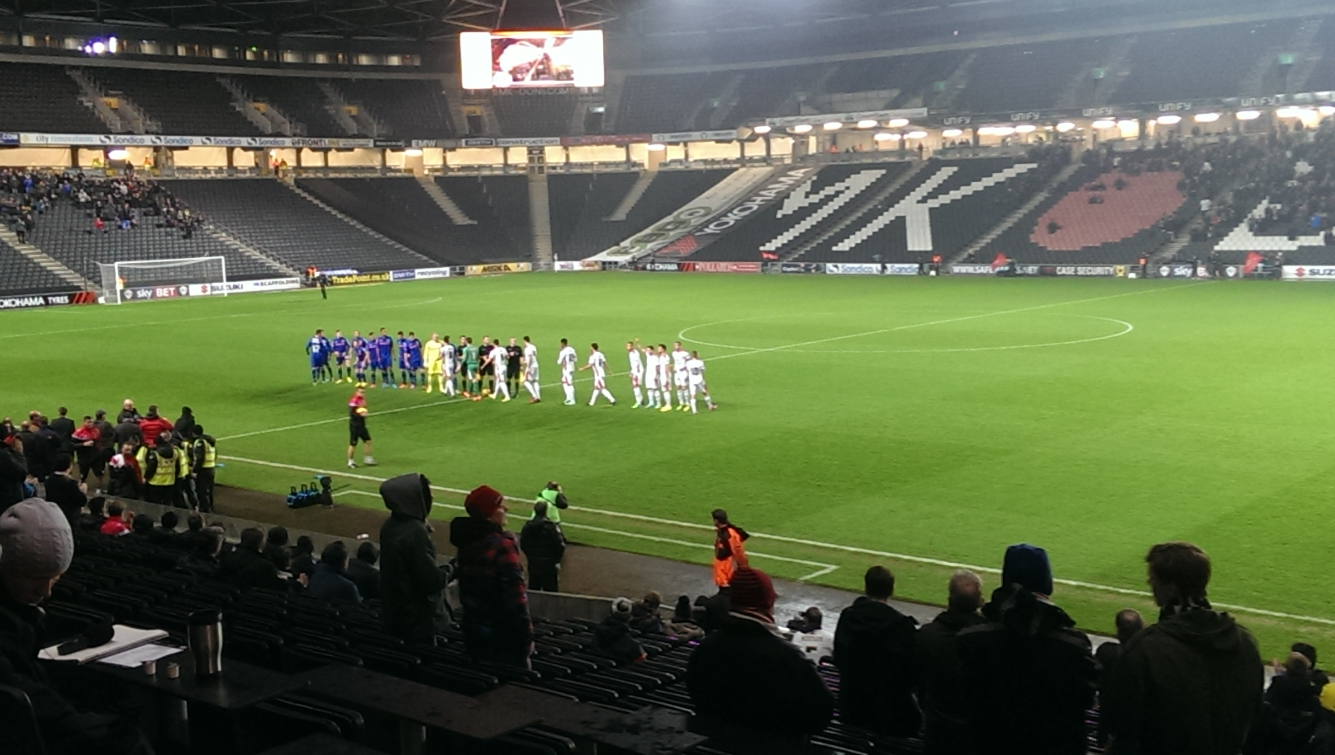 mk dons fa cup